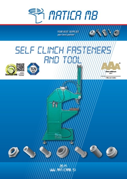 Catalogue for self-clinch fasteners