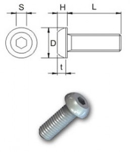 Screws  ISO 7380